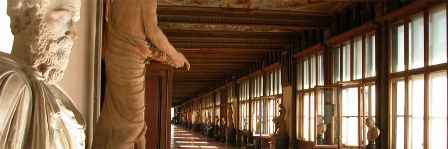 Uffizi, Akadémia, Pitti Palota .... vagyis firenzei állami múzeumok